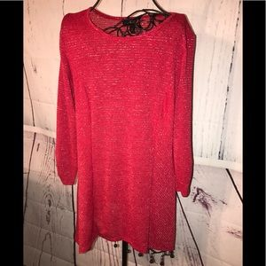 🌞Red AGB Blouse size small